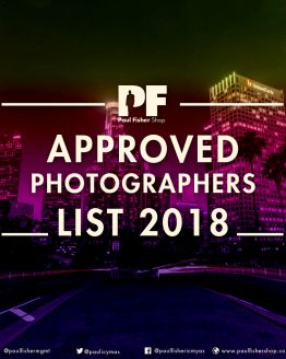 Approved Photographers list 2018