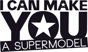 I Can Make You A Supermodel Logo